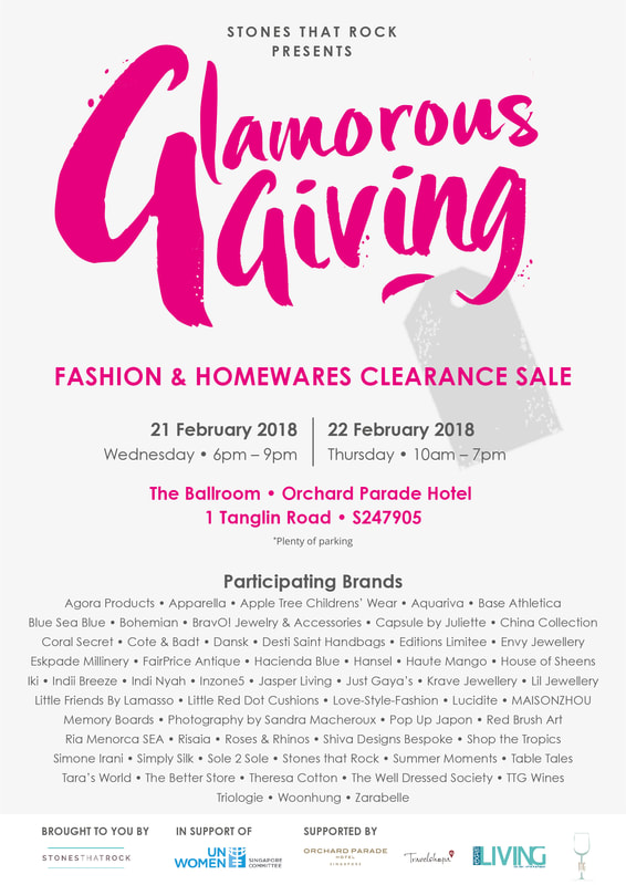 Summer Moments at Glamorous Giving Feb 2018